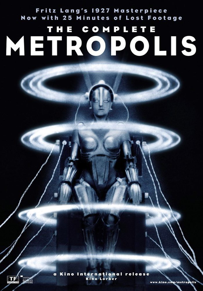 Metropolis  Year : 1927 Germany Director : Fritz Lang Movie poster. It is forbidden to reproduce the photograph out of context of the promotion of the film. It must be credited to the Film Company and/or the photographer assigned by or authorized by/allowed on the set by the Film Company. Restricted to Editorial Use. Photo12 does not grant publicity rights of the persons represented.